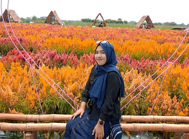 Taman Bunga Pringsewu Lampung