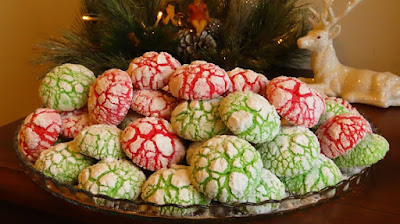 Božićni raspucanci / Christmas crinkles