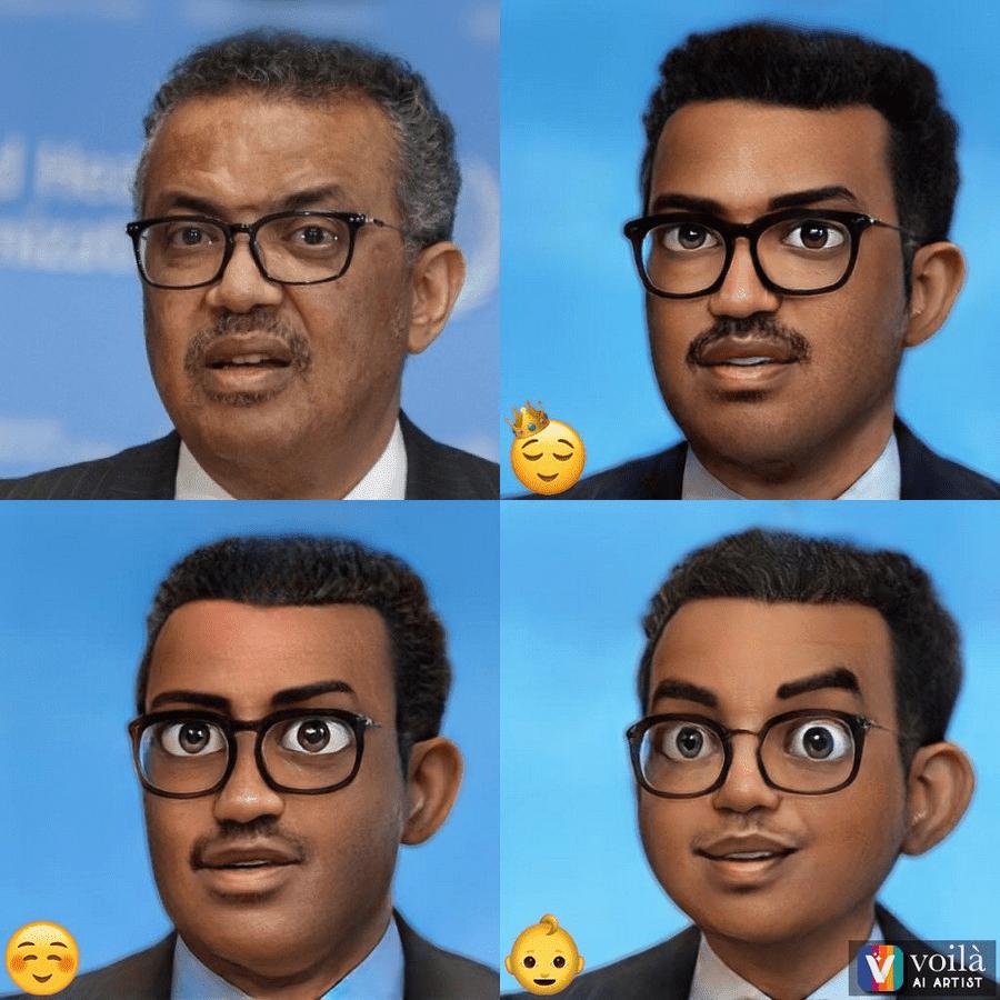 Voilà AI Artist 將人物照轉換為 3D 皮克斯動畫、文藝復興、漫畫風格大頭照(iOS/Android)