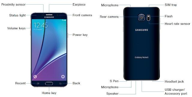 Samsung Galaxy Note 5 – SM-N920R4 – U.S. Cellular