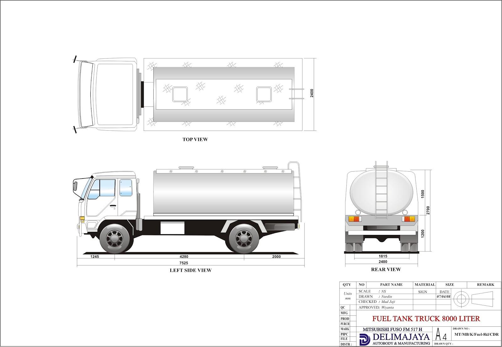 Mitsubishi 4x4 Amp Large Vehicle For Mining
