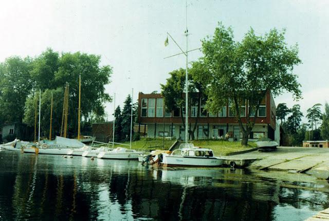 Яхт-клуб в Лиелупе
