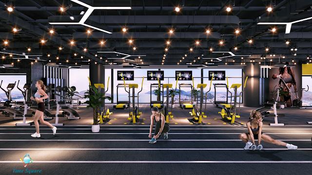 phòng tập gym TimeSquare Đà Nẵng
