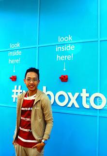 Blogger Eksis dalam event #UnBOXtoDiscover