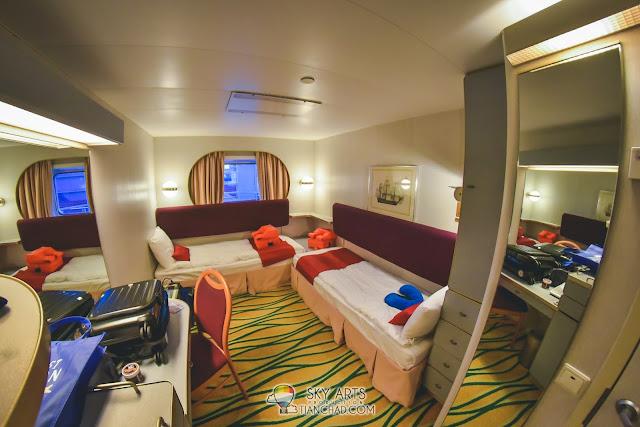 Deluxe Oceanview Stateroom @ Star Cruises Superstar Libra