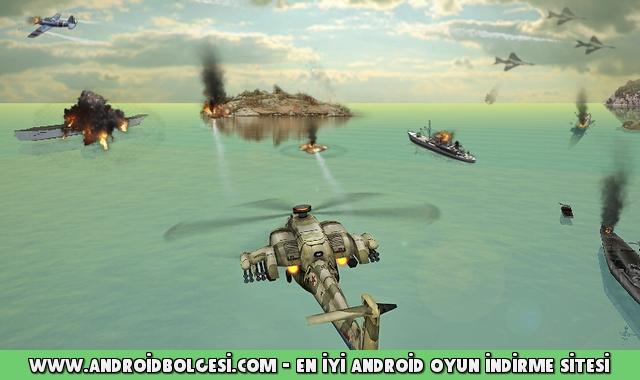 Helikopter Saldırısı 3D Apk Hile