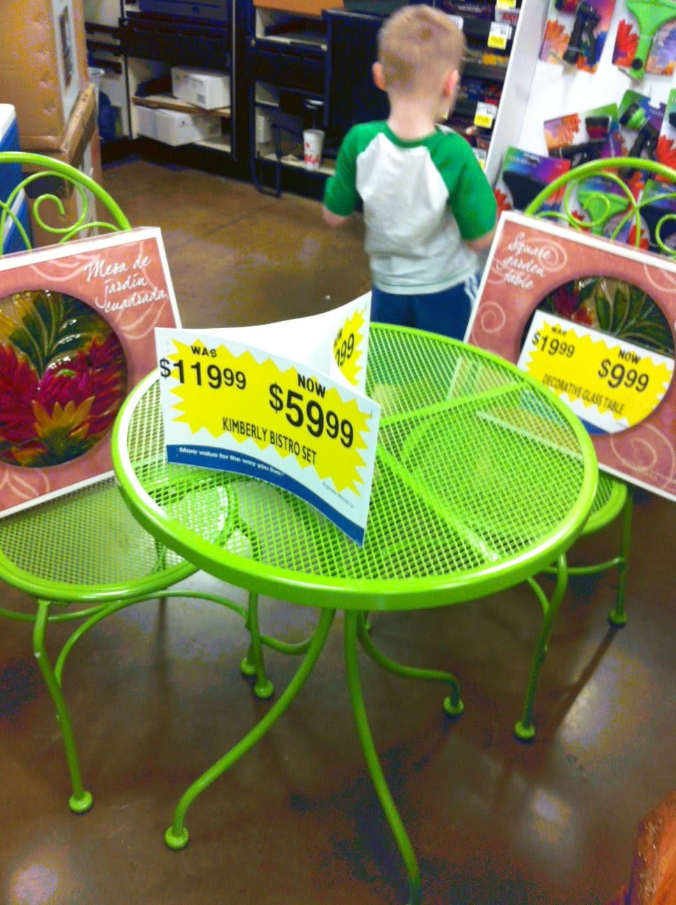 Kroger: Patio Sets, Grills, Tables Etc. Clearance!