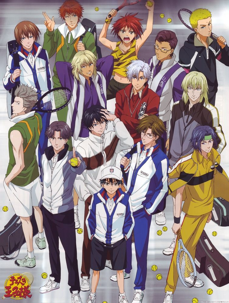 The Prince of Tennis |178/178 + Ovas| |Latino/Sub Español| |Mega|