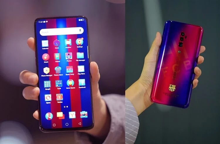 OPPO, FC Barcelona Launch Limited Edition Reno 10x Zoom
