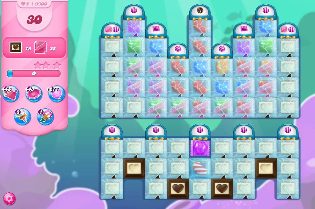 Candy Crush Saga level 9900