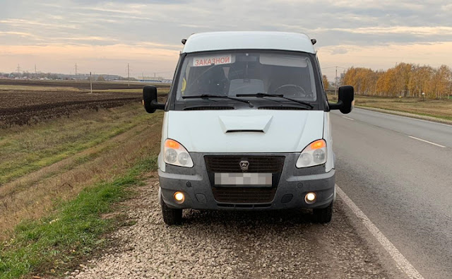 В Башкирии пьяный водитель перевозил пассажиров