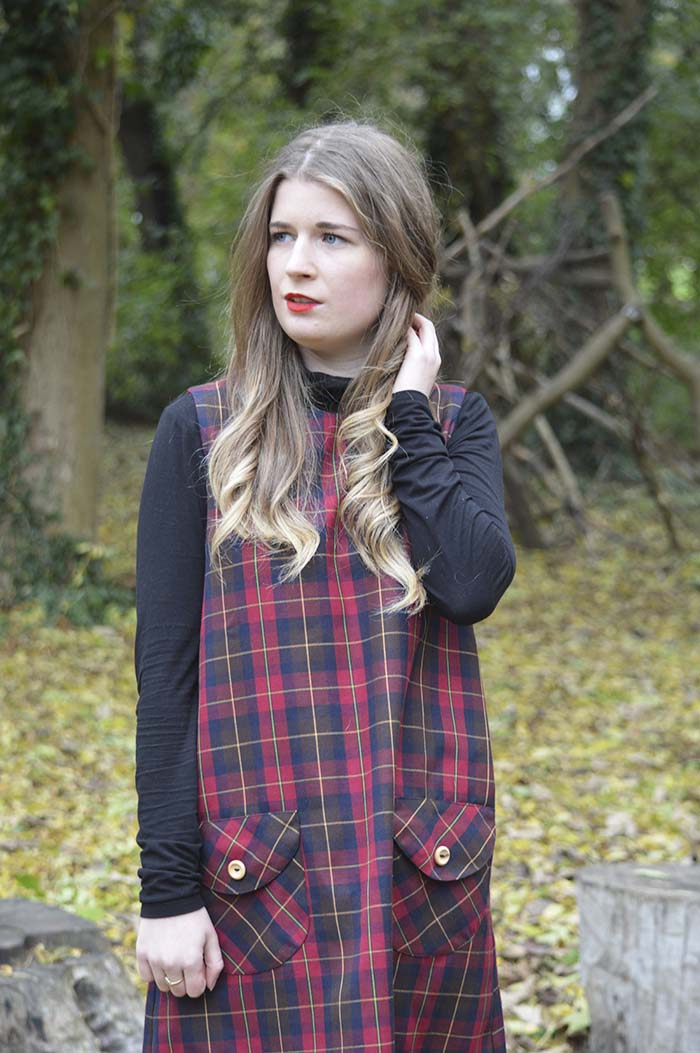 mod dolly pinafore fashion bloggers