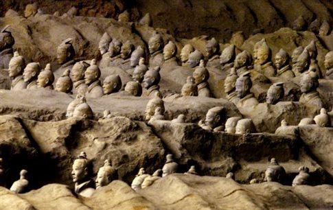 Αρχαίοι Έλληνες εκπαίδευσαν τους τεχνίτες του κινεζικού Στρατού από Τερακότα