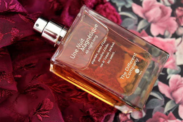 The Different Company Une Nuit Magnétique All Night Long avis, parfum the different company, just chic the different company, parfum oriental, une nuit magnétique avis, the different company une nuit magnétique, parfum sensuel pour femme