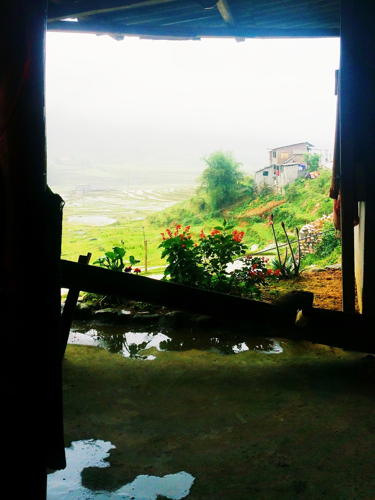 Honeymoon with the tasteful me trekking in Sapa, Vietnam