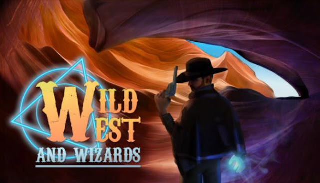 Wild West and Wizards — RPG with magic and fantasy elements to re-imagine a new frontier. Adventures in the Wild West with a gun in one hand and a spell in the other.