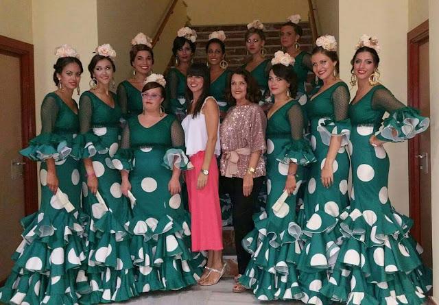 trajes de las damas de san roque