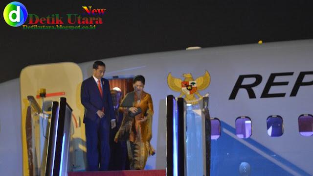 Presiden Jokowi selama lawatannya ke China
