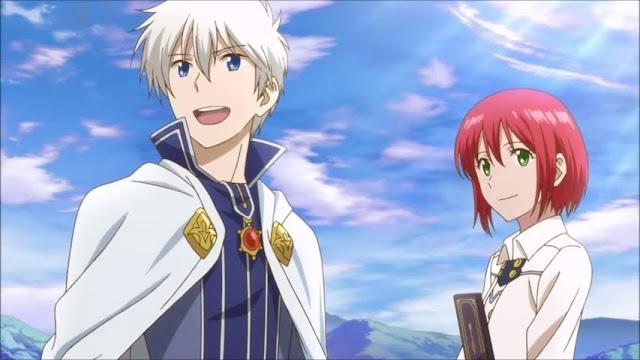 Akagami no Shirayuki-hime BD Episode 1-12 Subtitle Indonesia