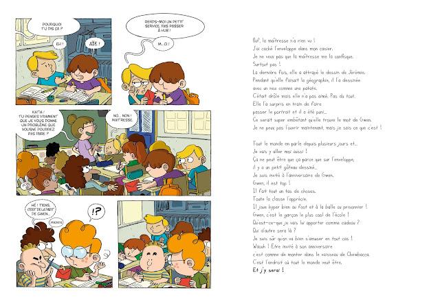 L'invitation aux éditions Frimousse page 8 et 9