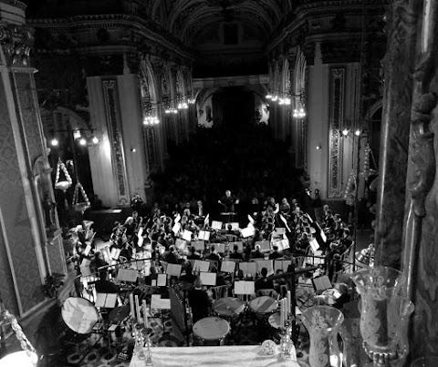 Programa del concierto de la Banda Municipal de Málaga