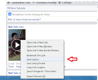 Cara Paling Mudah Download Video di facebook Tanpa Software