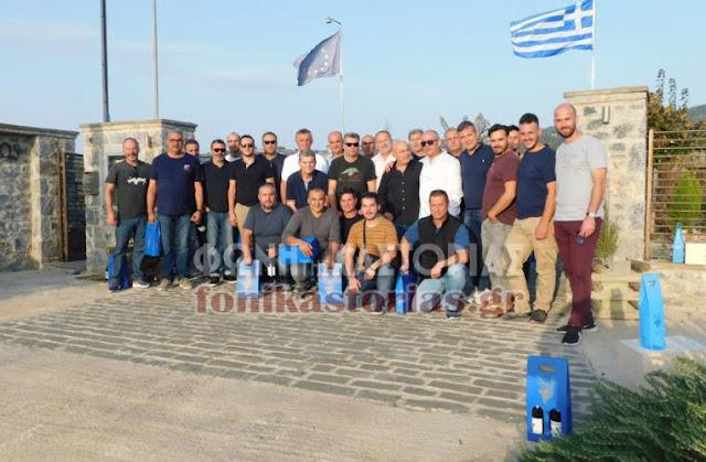 Τσιπουροπαραγωγοί από την Καστοριά στο Ναύπλιο και στα οινοποιεία και τους Αμπελώνες της Νεμέας!