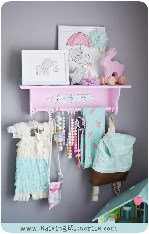 Pastel Colours Girls Bedroom Ideas