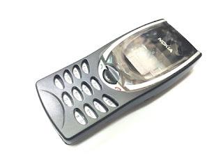 Casing Nokia 8210 Jadul Fullset Keypad Tulang