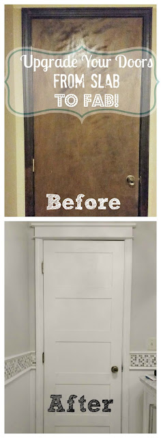 updating flat door