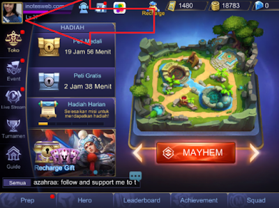 Cara Ganti Nama dan Avatar Mobile Legends