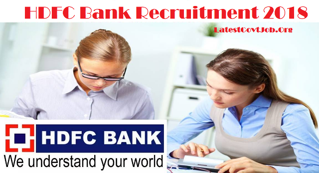 HDFC Recruitment 2018 For Manager, Appraiser Posts | Apply Online @www.hdfc.com