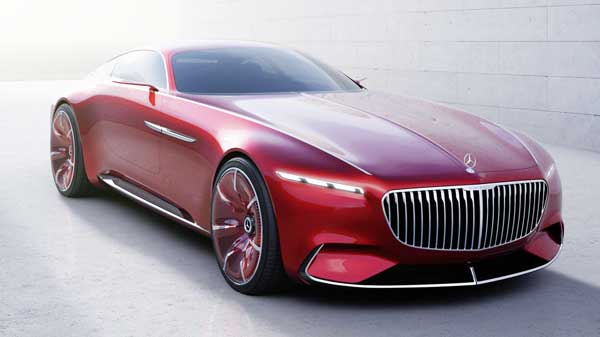 2016 Mercedes-Maybach Concept Quick-Charging, and Claim 750 horsepower