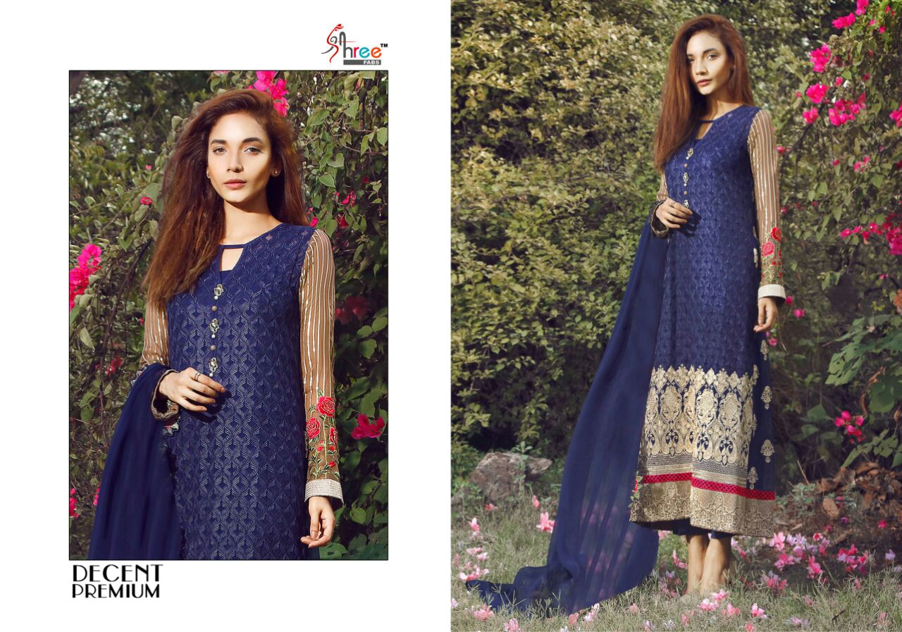 Decent Premium – Exclusive Faux Georgette Salwar Kameez Exporter
