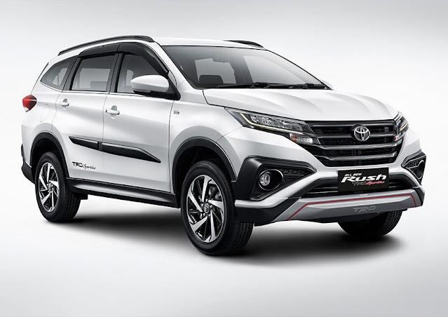 Toyota Rush 2021: Simak Rangkuman Spesifikasinya