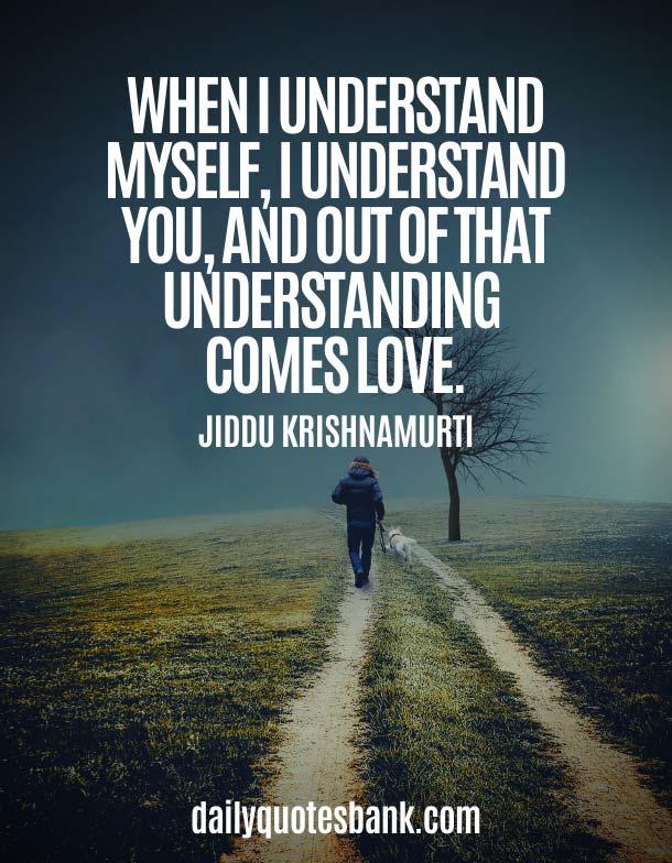 Jiddu Krishnamurti Quotes On Love