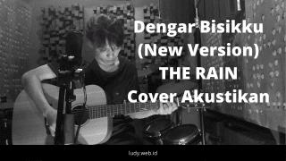 Isenk Cover Akustikan Lagu Dengar Bisikku The Rain