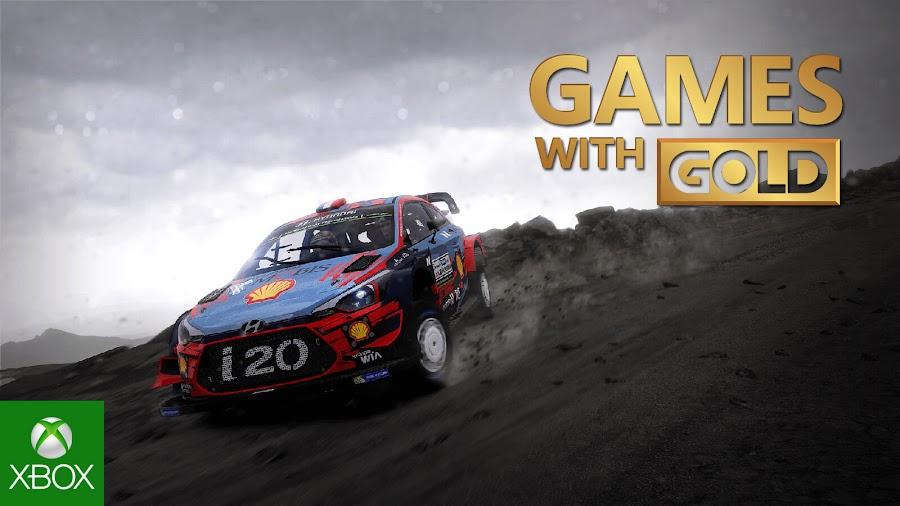wrc 8 fia world rally championship xbox live gold free game kylotonn bigben interactive xb1