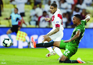 شاهد ملخص اهداف مباراة أوروجواي والبيرو بتاريخ 29-06-2019 كوبا أمريكا 2019