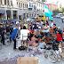 Once: Un grupo de manteros desalojados llegó a un principio de acuerdo con la Ciudad y la Policía liberó Pueyrredón
