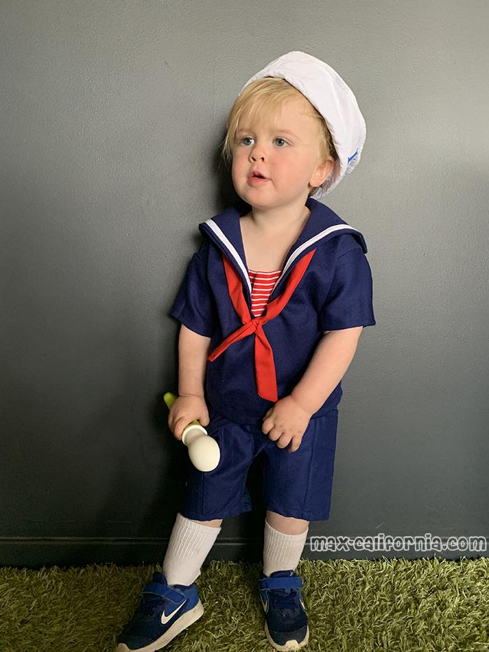 Scoops Ahoy Sailor Steve Harrington Stranger Things toddler costume  • www.max-california.com