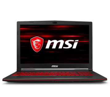 MSI Notebook GF63 8RD