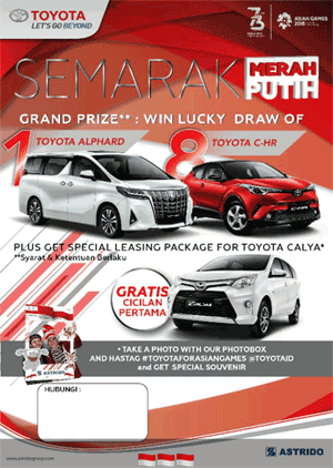 Dealer Toyota Depok, Harga, Promo Terbaru 2018