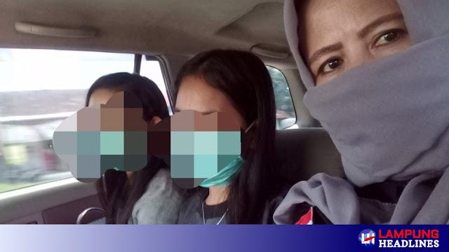 Dua Gadis Korban Human Trafficking Asal Pringsewu Dipulangkan