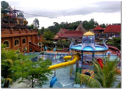 Slanik Waterpark Lampung Kabupaten Lampung Selatan