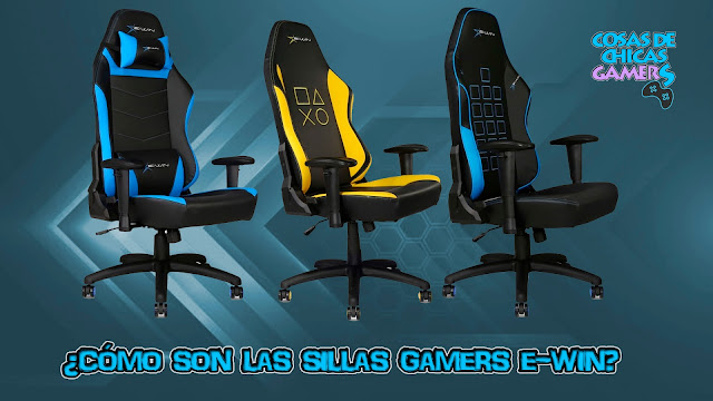 Review sillas gamers e-win modelo knight series