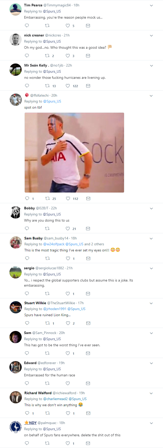 Twitter reacts to Tottenham Hotspur fan's  Lion King-inspired tribute video