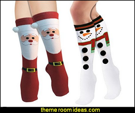 Women's Adult Christmas Socks  Pajamas - fun pajamas family pajamas sleepwear - Girls Pajamas - Boys Pajamas - Mommy & Me pajamas - Christmas pajamas - fun boxers - Christmas gifts - holiday traditions - socks  - novelty socks - Christmas socks - Holiday clothing - slippers