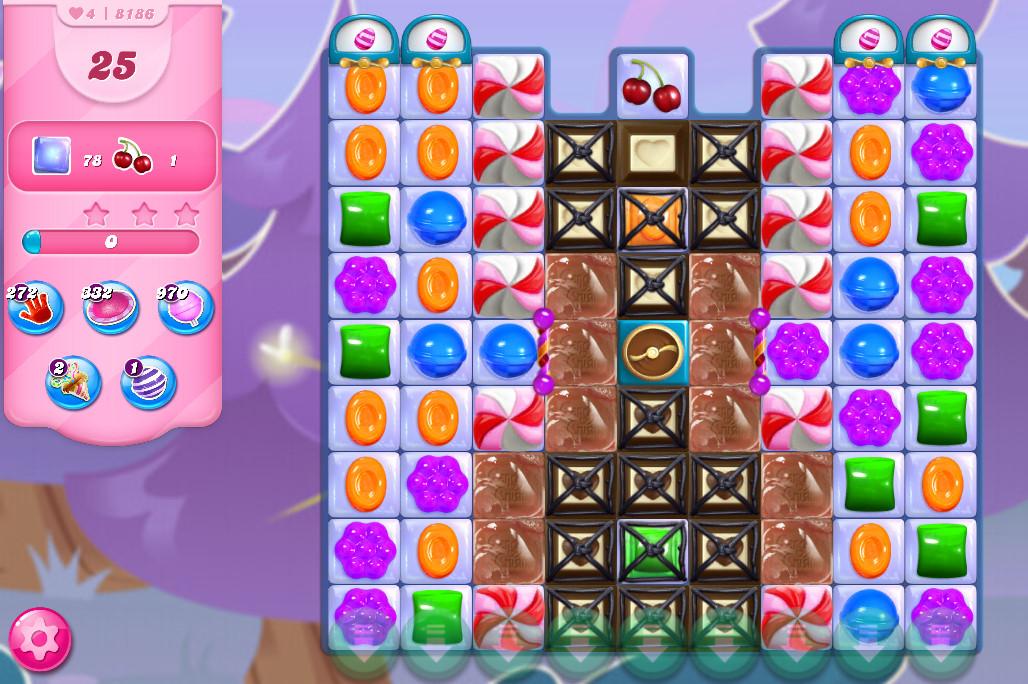 Candy Crush Saga level 8186