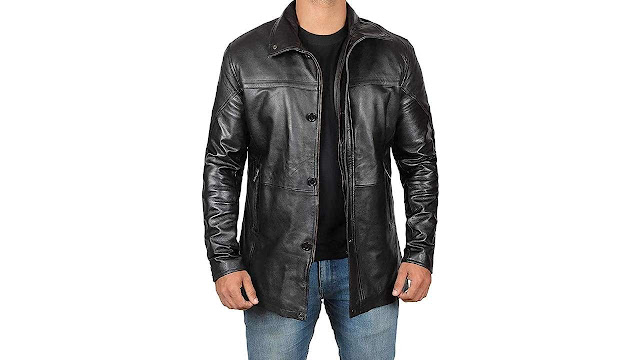 Coat Length Leather Jackets